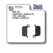 Колодка дисковая Zeit DK-51 фото