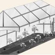 Системы капельного полива для теплиц американских фирм Hunter и RainBird. фото