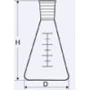 Колба коническая Кн-1 с взаимоз. конусом и шкалой, 500 мл, 29/32, ТС 200165 фото