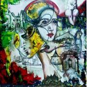 Абстрактная картина в офис | Abstract painting in the office фото