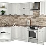 Угловой кухонный гарнитур ПМ: РДМ Агава угловая 1.7 х 1.4 м фото