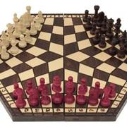 """Шахматы """"На троих"""" большие. фото"""