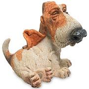 """Фигурка """"Собака Бассет"""" 6,4х6,2х5,5см. (W.Stratford) арт.RV-891 фото"""