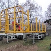 Прокат полуприцепа-сортиментовоза МАЗ 998640-010 фото