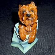 Сувенир Собака на пъедестале фото