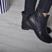 Женские кожаные ботинки в моделях. ВВ-40-0218 фото