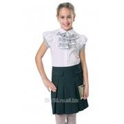Юбка для девочек младшего школьного возраста - модель 4315 фото