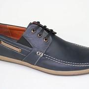 Туфли мужские кожаные. Артикул товара: 6774-58. Обувь кожаная мужская. Размер 40-45. фото