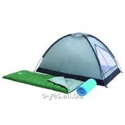 Палатка двухместная + 2 спальника + 2 каремата Bestway 68000 фото