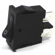Выключатель KCD-6 черный (2с) фото