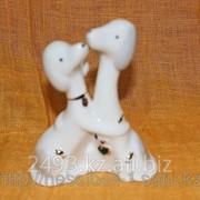 Сувенир Собачка из керамики фото