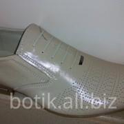 Туфли мужские. модель 5 У 60-3 беж. Цена 750 грн. фото