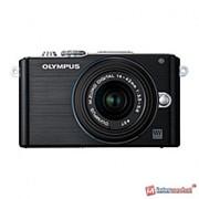 Цифровой фотоаппарат Olympus Pen E-PL3 Kit black фото
