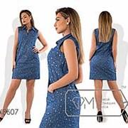 Платье женское с узором VV/-069 фото