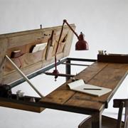 Винтажный письменный стол фото