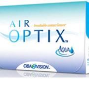 Линзы Ciba Vision Air OPTIX Aqua сила от -10,00 +6,00 фото