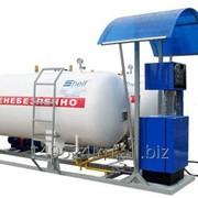 Модуль для заправки автомобилей сжиженным газом LPG ГРК -5 с колонкой SHELF 100-1LPG фото