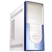 Корпус компьютерный Jet ivory-blue фото