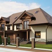Строительство домов и коттеджей под ключ фото