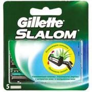 Сменные кассеты Gillette Slalom 5 шт (3014260286545) фото