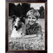 Картина Мальчик с собакой, Неизвестен фото