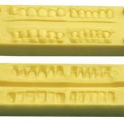 Форма силиконовая для изготовления внешней поверхности фронтальных зубов фото