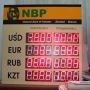 Табло валют световое фото