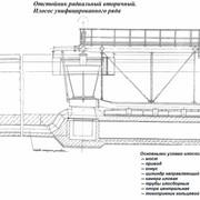 Оборудование для очистных сооружений, Илососы диаметром 24м М743 для вторичных радиальных отстойников фото