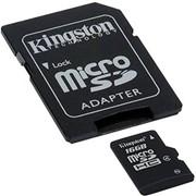 Карта памяти Kingston microSDHC Class 4 16 Гб (SDC4/16GB) фото