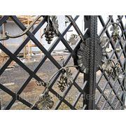Ворота церковные кованые фото