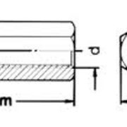 Гайка шестигранная М6-М16 ГОСТ 5931-70, DIN 6334 фото