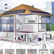 Проектирование отопления жилых домов, гостиниц, общежитий, жилых корпусов пансионатов, домов отдыха фото
