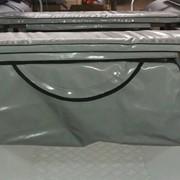 Накладка на банку с сумкой (рундуком) фото