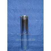 Воздуховод оцинкованный 0.5м Ф125 фото