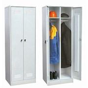 Металлические раздевальные шкафы фото