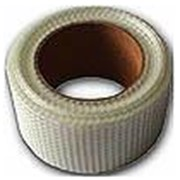 Лента бандажная (серпянка)153 х 50 мм. для заделки швов и защиты от растрескивания соединений между листами гипсокартона. фото