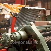 Агрегат для производства волнистых плит фото