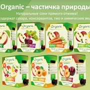 Сок натуральный прямого отжима Organic, 3л уп, bag in box фото