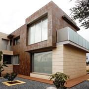 Фасады из керамогранита фото