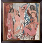 Картина Авиньонские девицы, Пикассо, Пабло фото