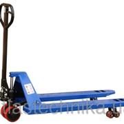Ручные гидравлические тележки для паллет, г/п 2000 кг, вилы 1150/550 фото