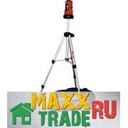 """Уровень лазерный, дальность 10 м, самовыравнивающийся, штатив 1100 мм, """"MATRIX"""" /35033 фото"""