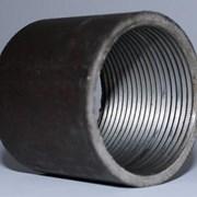 Муфта стальная 25 ( 250 шт) фото