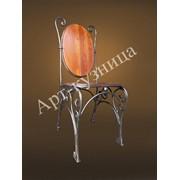 Стул кованый, кованая мебель, мебель для дома, мебель для ресторана фото