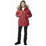 Куртка Аляска женская, бордо фото