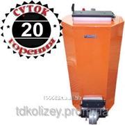 Твердотопливный котел длительного горения Энергия ТТ 110 кВт фото