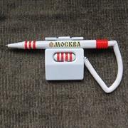 Ручка-магнит на пружине фото