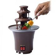 Шоколадный фонтан фондю Chocolate Fondue Fountain Mini фото