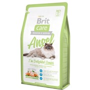 Сухой корм для кошек Brit Care Cat Angel I am Delighted Senior - 2 кг фото