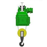 Взрывозащищенный канатный электротельфер серия ВМТ. С монорельсовой тележкой нормальная строительная высота фото